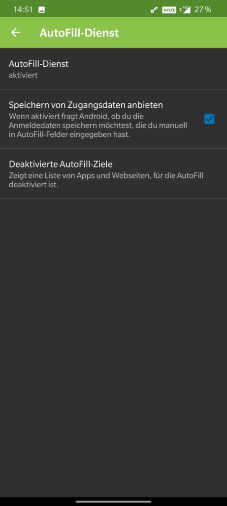 KeePass2Android Settings 3b