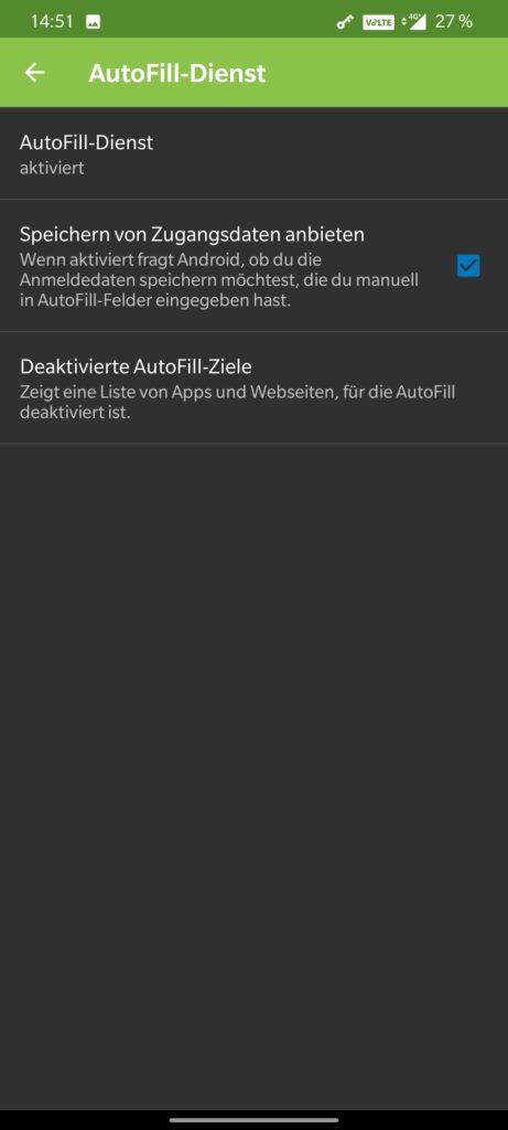 KeePass2Android Settings 3b